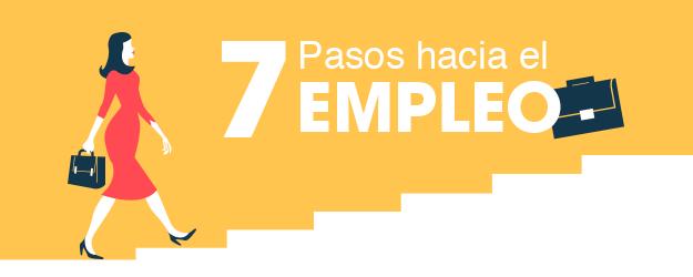 7 PASOS HACIA EL EMPLEO