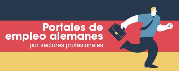 PORTALES DE EMPLEO ALEMANES POR SECTORES PROFESIONALES
