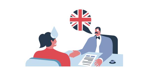 Entrevista de trabajo en inglés 1