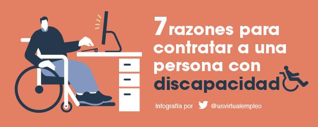 7 RAZONES PARA CONTRATAR A UNA PERSONA CON DISCAPACIDAD