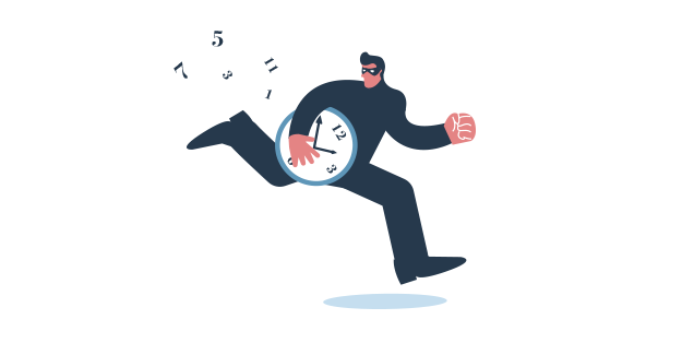 ladrones del tiempo 01 productividad