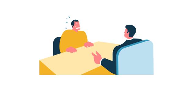 errores entrevista de trabajo confianza