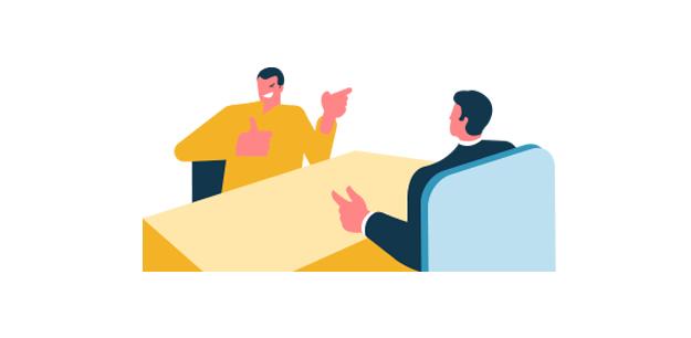 errores entrevista de trabajo personal